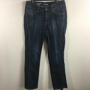 Lane Bryant Dark Wash Perfectly Slim Jeans Size 14